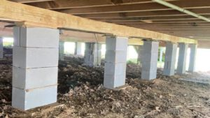 House Leveling in Elgin, Texas